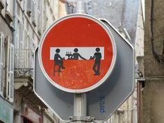 Street Art Poitiers. I saw one similar in France and it is a simple way to spread joy and a smile through a people