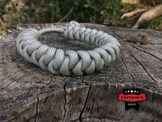 Original US Survival paracord Bracelet Military specialist snake knot with diamond knot clasp by Startimagine on Etsy