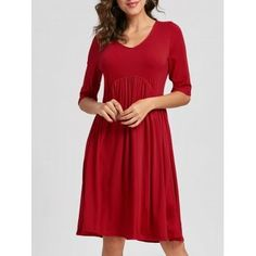 GET $50 NOW | Join Dresslily: Get YOUR $50 NOW!https://m.dresslily.com/casual-half-sleeve-swing-dress-product2196914.html?seid=Inlv0MCA6AC8lCr9OG706Gb5h4