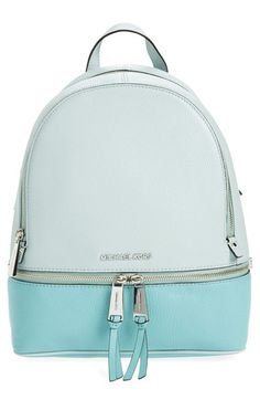 ef31a36112f1 MICHAEL Michael Kors 'Small Rhea' Leather Backpack Mk Bags Outlet, Michael  Kors Backpack