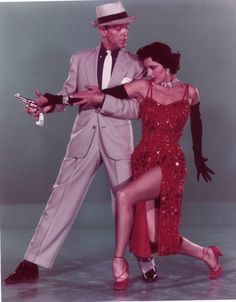 Cyd Charisse and Fred Astaire in The Band Wagon (1953)