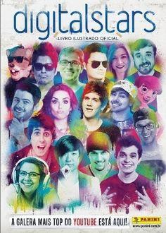 Sem Zangado e Rezende, álbum de figurinhas de youtubers sai em 20 de julho