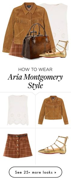 Designer Clothes, Shoes & Bags for Women Aria Montgomery Style, Pretty Little Liars Outfits, Aspinal Of London, Pll, Everyday Outfits, Dress Me Up, Dress To Impress, Christian Louboutin, River Island