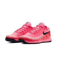 The latest innovation to hit the court, the NikeCourt Air Zoom Vapor X Knit gives you responsive performance in a breathable, lightweight design. The supportive knit and synthetic upper is built to secure your foot during your most explosive movements.  Breathable Support  Circular-knit material is breathable and lightweight. High-strength yarns help support your foot while you run the court.  Court-Ready Comfort  A soft foam midsole has a Zoom Air unit at the heel for low-profile…
