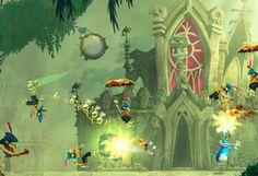Rayman Legends Wii U dominance despite multiplatform. Awesomely fun game.