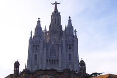 Sagrat Cor and the Tibidabo Theme Park - Barcelona, Spain | AFAR.com