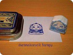 謹賀新年♪スモールはんこ 福助の巻 small stamp Fukusuke