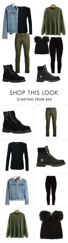 """""""Hiking with my (non existent) boyfriend"""" by yoce-lyn on Polyvore featuring Lugz, Jack & Jones, Wings + Horns, Timberland, Fear of God and Barneys New York"""