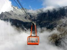 The longest cable car in the world.