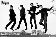 the beatles posters | The Beatles- Jump 2 Poster