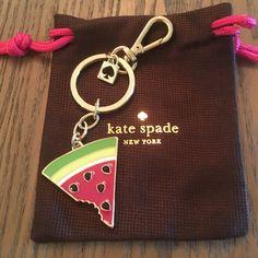 ✨Sale✨Kate Spade Watermelon Keychain✨ ✨Kate Spade Watermelon Keychain✨ kate spade Accessories