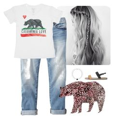 """""""Cali Style!"""" by disneychick14 ❤ liked on Polyvore featuring Gap, Billabong, Ancient Greek Sandals, women's clothing, women, female, woman, misses and juniors"""