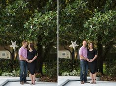 Orlando Maternity Session - Corner House Photography - Orlando Maternity Photographer - parents to be posing by the pool