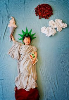 Creative Sleeping Baby Pictures | Wengenn in Wonderland