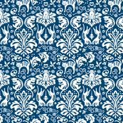 Damask Cats! by aliceio, Spoonflower digitally printed fabric  Create your own wallpaper or fabric!