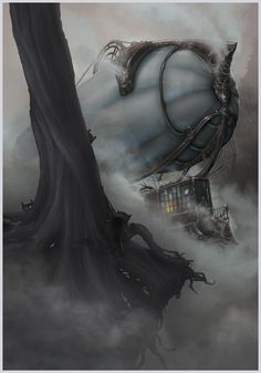 The Dark Nine, Gediminas Skyrius on ArtStation at https://www.artstation.com/artwork/8rxPm