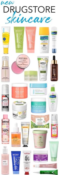 From glow-boosting serums and moisturizers to ultra-nourishing night creams and masks, here are all the exciting new drugstore skincare launches for 2021! Drugstore Skincare, Best Skincare Products, Best Face Products, Makeup Products, Face Care Tips, Face Care Routine, Face Skin Care, Greasy Skin, Sensitive Skin Care