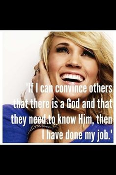 Great Quote Carrie! This is why I love her I love this what a blessing to bless someone else