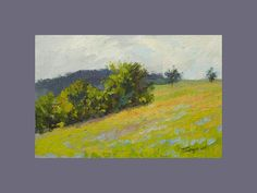 Landscape Painting  Spring Painting  Green Painting  by PysarArt, $99.00
