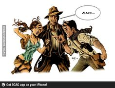 Kids, let's be mature now. Indy is the original deal here! (Lara Croft of Tomb Raider, Indiana Jones of Indiana Jones, and Nathan Drake of Uncharted) Nathan Drake, Indiana Jones, Geeks, Drake Wallpapers, Uncharted Series, Master System, Tomb Raider Lara Croft, Hd Picture, Cultura Pop