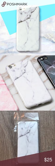 IPhone 7/8 White Marble Case new in packaging, just took it out to take a photo Accessories Phone Cases