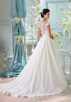 David Tutera For Mon Cheri 116213 - Lene Ball Gown Wedding Dress