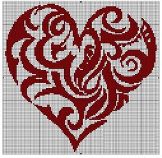 Thrilling Designing Your Own Cross Stitch Embroidery Patterns Ideas. Exhilarating Designing Your Own Cross Stitch Embroidery Patterns Ideas. Cross Stitch Gallery, Cross Stitch Heart, Cross Stitch Designs, Cross Stitch Patterns, Cross Heart, Embroidery Hearts, Learn Embroidery, Cross Stitch Embroidery, Embroidery Patterns