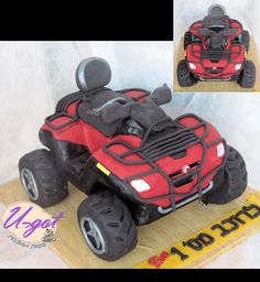 u-got cakes #3: how to make a ATV cake - CakesDecor