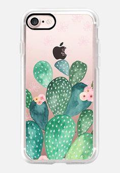 Casetify iPhone 7 Classic Grip Case - Cactus by Li Zamperini Art #Casetify