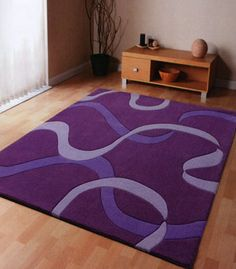 My bedroom wants this. :)  Google Image Result for http://aplacetojourney.net/wp-content/uploads/2011/05/purple-area-rugs.jpg