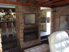 Fireplace in the living area Decor, Living Area, House, Areas, Bedroom, Home Decor, 6 Bedroom House, Fireplace