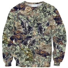Sweatshirts - PMW Sweater Warm And Cozy, Shirt Dress, Sweatshirts, Sweaters, Mens Tops, Cats, Clothes, Collection, Money