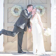 Black and White Chic Canada Wedding on WeddingWire