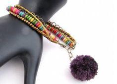 Perlas de baile de la pulsera de DIY   AllFreeJewelryMaking.com