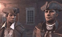 Connor and Haytham Kenway ... Assassin's Creed 3