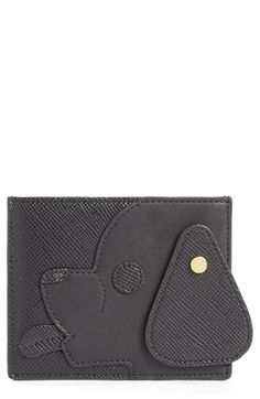 Opening Ceremony 'Dog' Saffiano Leather Card Case available at #Nordstrom