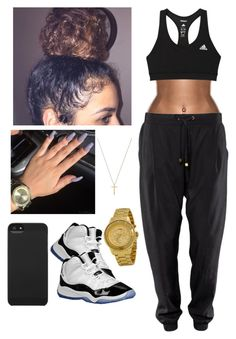 """""""Chill #2"""" by yvngbullsking ❤ liked on Polyvore featuring adidas, Versus, Gucci, Incase and Concord"""