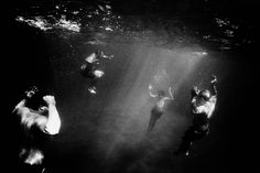 Trent Parke (The Seventh Wave) Covelly ocean pool, New South Wales, Australia 2000