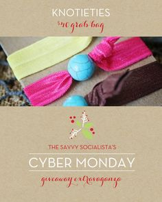 Giveaway at The Savvy Socialista!