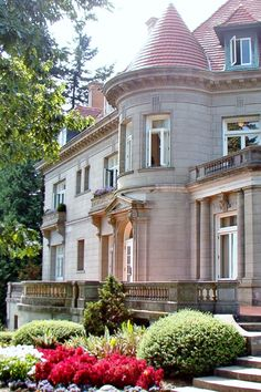 Pittock Mansion, Portland, Oregon.  My favorite time to visit, is at Christmas when the whole place is decorated inside.