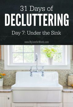 Sick of feeling overwhelmed by clutter? Join the 31 Days of Decluttering challenge and start taking small steps towards the life and home you really want!