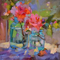 """""""Color Song"""" by Dreama Tolle Perry in FreshCutFlowers on Dreama's Print Shop"""