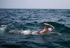 naseba  Chairman Scott Ragsdale, during his 14 hour 1 minute cross channel swim, in 2010.
