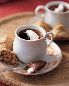 클래식 초콜릿 팟 데 크렘