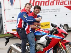 Gallery: Guy Martin signs for Honda Racing