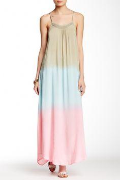 Hawaii Yani Beaded Collar Dress by Tiare Hawaii on @HauteLook
