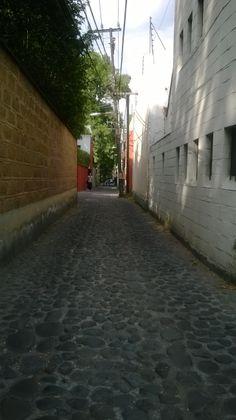 Calle: Paseo del Río. Los callejones se abrían ante nuestros pies y se cerraban justo en donde terminaban nuestros ojos... El lugar está rodeado de callejones en los que te puedes atrever a adentrarte o sólo quedarte en la entrada, de las dos formas terminarás perdiéndote.