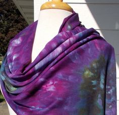 Dharma Trading Co. Featured Artist: Martha Bennett ice dyed accessories and garments
