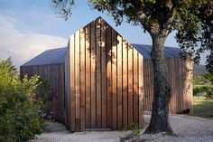 h2o architects' Timber La Cabotte Cabin Complements Southern France's Rolling Vineyards | Inhabitat - Green Design, Innovation, Architecture, Green Building