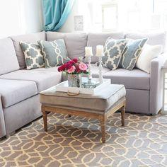 Wełniany dywan / ręcznie tkany / Moroccan pattern